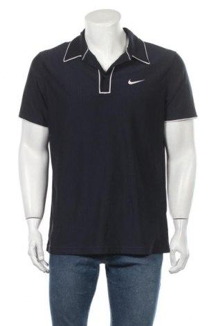 Pánské tričko  Nike, Velikost L, Barva Modrá, 88% polyester, 12% elastan, Cena  335,00Kč