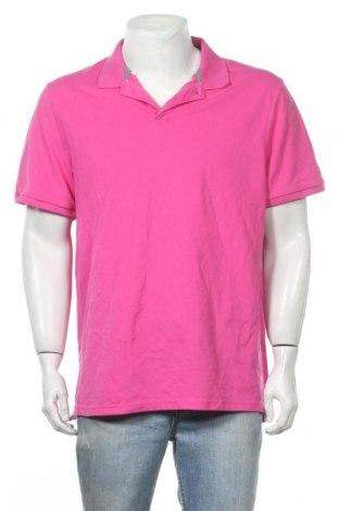 Мъжка тениска Old Navy, Размер XL, Цвят Розов, 58% памук, 39% полиестер, 3% еластан, Цена 17,85лв.