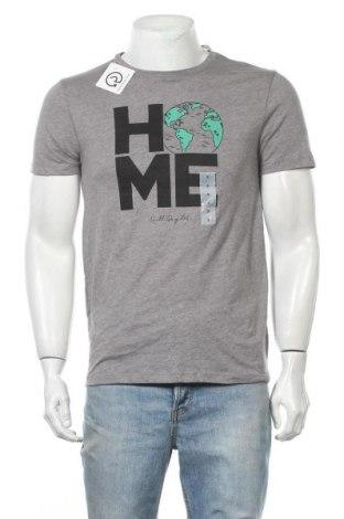 Мъжка тениска Old Navy, Размер S, Цвят Сив, 60% памук, 40% полиестер, Цена 25,94лв.