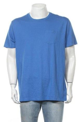 Мъжка тениска Old Navy, Размер XL, Цвят Син, 60% памук, 40% полиестер, Цена 14,70лв.