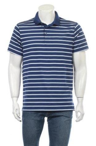 Мъжка тениска Old Navy, Размер L, Цвят Син, 86% полиестер, 14% еластан, Цена 16,96лв.