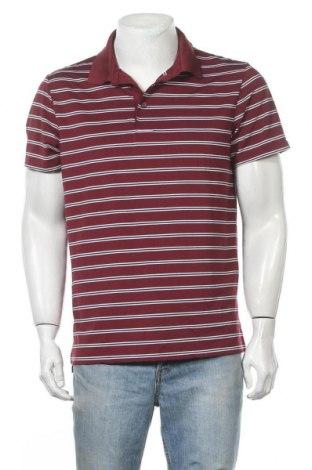 Мъжка тениска Old Navy, Размер L, Цвят Червен, 86% полиестер, 14% еластан, Цена 18,90лв.