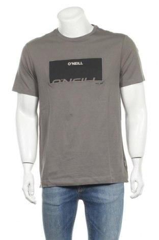 Ανδρικό t-shirt O'neill, Μέγεθος L, Χρώμα Γκρί, Βαμβάκι, Τιμή 18,95€