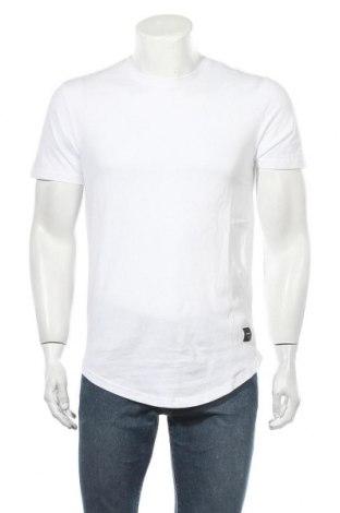 Мъжка тениска Only & Sons, Размер S, Цвят Бял, Памук, Цена 9,18лв.