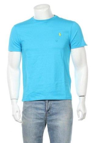 Ανδρικό t-shirt Polo By Ralph Lauren, Μέγεθος M, Χρώμα Μπλέ, 100% βαμβάκι, Τιμή 34,41€