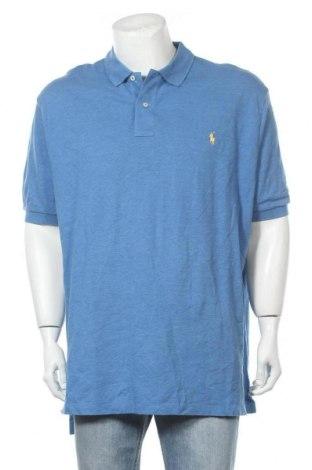 Ανδρικό t-shirt Polo By Ralph Lauren, Μέγεθος XXL, Χρώμα Μπλέ, Βαμβάκι, Τιμή 23,38€