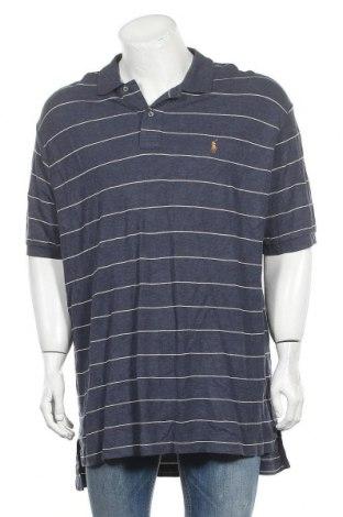 Ανδρικό t-shirt Polo By Ralph Lauren, Μέγεθος XXL, Χρώμα Μπλέ, 60% βαμβάκι, 40% βισκόζη, Τιμή 19,74€