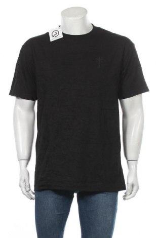 Ανδρικό t-shirt Premier, Μέγεθος L, Χρώμα Μαύρο, Βαμβάκι, Τιμή 14,19€