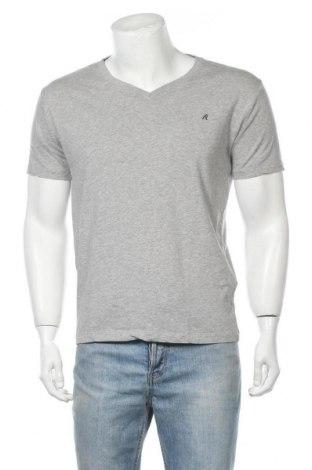 Ανδρικό t-shirt Replay, Μέγεθος L, Χρώμα Γκρί, Βαμβάκι, Τιμή 32,25€