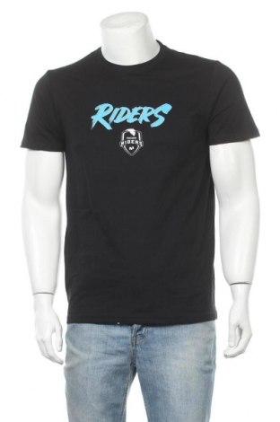 Ανδρικό t-shirt Riders, Μέγεθος M, Χρώμα Μαύρο, Τιμή 9,84€