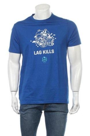 Ανδρικό t-shirt Riders, Μέγεθος L, Χρώμα Μπλέ, Τιμή 9,84€