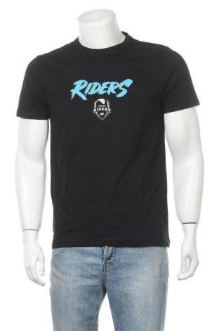 Ανδρικό t-shirt Riders, Μέγεθος M, Χρώμα Μαύρο, Τιμή 8,71€