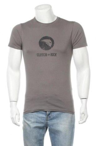 Ανδρικό t-shirt Riders, Μέγεθος S, Χρώμα Γκρί, Βαμβάκι, Τιμή 9,84€
