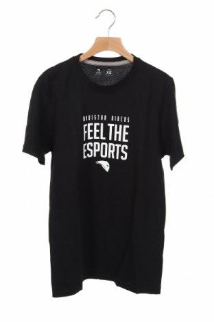 Ανδρικό t-shirt Riders, Μέγεθος XS, Χρώμα Μαύρο, Τιμή 9,84€