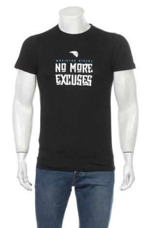 Ανδρικό t-shirt Riders, Μέγεθος S, Χρώμα Μαύρο, Τιμή 7,37€