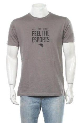Ανδρικό t-shirt Riders, Μέγεθος L, Χρώμα Γκρί, Βαμβάκι, Τιμή 9,84€