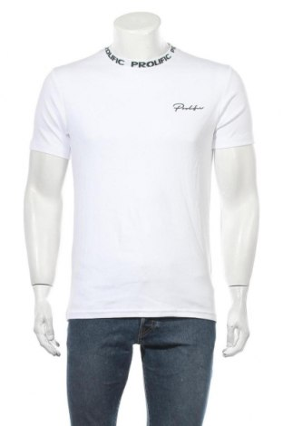 Ανδρικό t-shirt River Island, Μέγεθος S, Χρώμα Λευκό, Βαμβάκι, Τιμή 14,94€