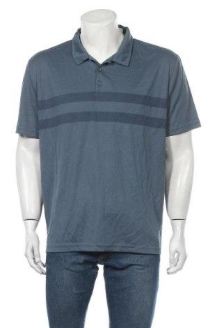 Ανδρικό t-shirt Rivers, Μέγεθος XXL, Χρώμα Μπλέ, Πολυεστέρας, Τιμή 16,89€