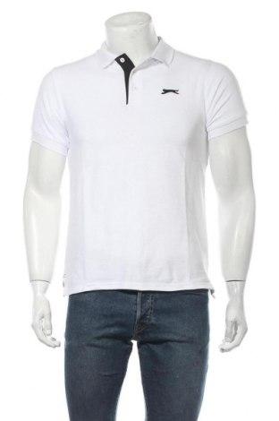 Мъжка тениска Slazenger, Размер XS, Цвят Бял, 65% полиестер, 35% памук, Цена 15,95лв.