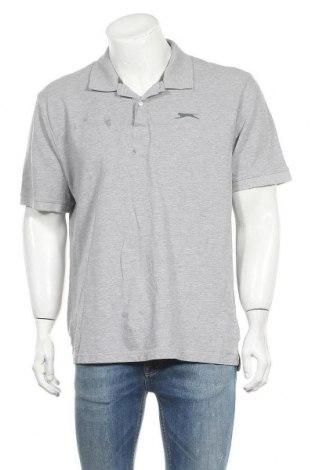 Мъжка тениска Slazenger, Размер XXL, Цвят Сив, Памук, вискоза, Цена 15,96лв.