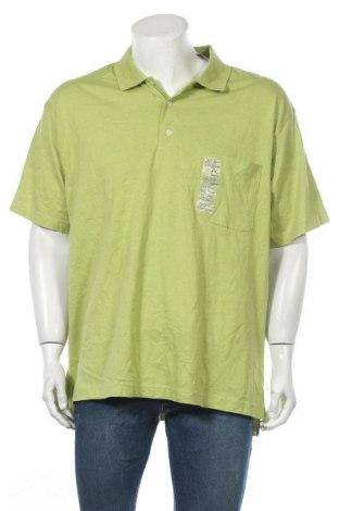 Ανδρικό t-shirt St. John's Bay, Μέγεθος XXL, Χρώμα Πράσινο, Βαμβάκι, Τιμή 15,20€