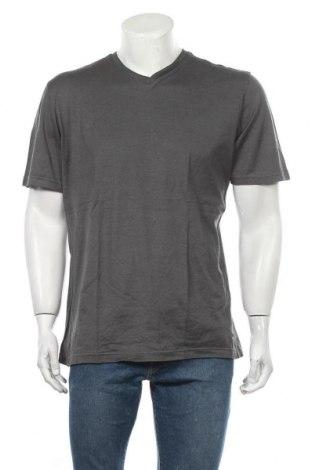 Ανδρικό t-shirt TCM, Μέγεθος L, Χρώμα Γκρί, Βαμβάκι, Τιμή 9,35€
