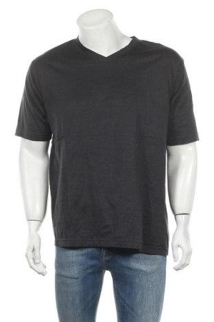 Ανδρικό t-shirt TCM, Μέγεθος L, Χρώμα Γκρί, Βαμβάκι, Τιμή 4,68€