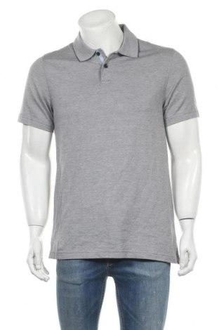 Мъжка тениска Tasso Elba, Размер S, Цвят Сив, Памук, Цена 4,46лв.
