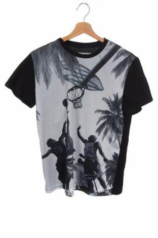 Ανδρικό t-shirt Terranova, Μέγεθος XS, Χρώμα Μαύρο, Βαμβάκι, Τιμή 7,79€