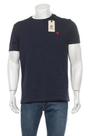 Ανδρικό t-shirt Timberland, Μέγεθος L, Χρώμα Μπλέ, 100% βαμβάκι, Τιμή 20,65€