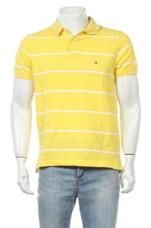 Ανδρικό t-shirt Tommy Hilfiger, Μέγεθος L, Χρώμα Κίτρινο, Τιμή 22,08€