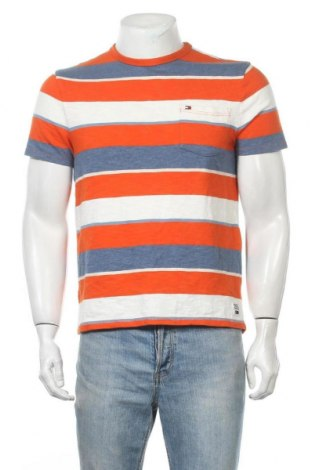 Ανδρικό t-shirt Tommy Hilfiger, Μέγεθος S, Χρώμα Πολύχρωμο, Βαμβάκι, Τιμή 20,78€