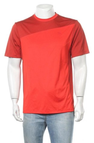 Мъжка тениска Wilson, Размер L, Цвят Червен, Полиестер, Цена 10,40лв.