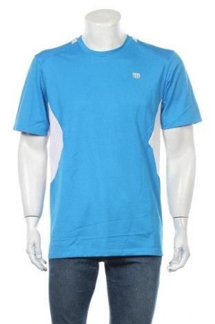 Ανδρικό t-shirt Wilson, Μέγεθος L, Χρώμα Μπλέ, Πολυεστέρας, Τιμή 7,73€