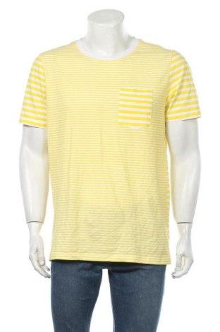Ανδρικό t-shirt Yes Or No, Μέγεθος XL, Χρώμα Κίτρινο, Βαμβάκι, Τιμή 11,04€
