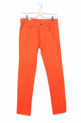 Мъжки дънки Abercrombie & Fitch, Размер S, Цвят Оранжев, Памук, Цена 11,47лв.