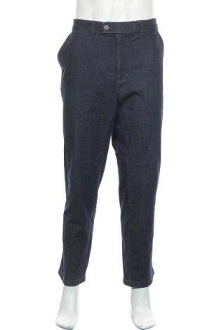 Мъжки дънки Brax, Размер XL, Цвят Син, 82% памук, 17% полиестер, 1% еластан, Цена 58,85лв.