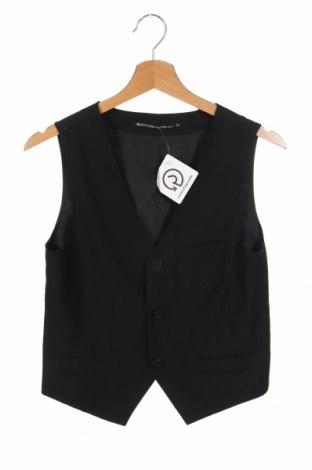 Мъжки елек Outfitters Nation, Размер XS, Цвят Черен, 65% полиестер, 35% вискоза, Цена 14,33лв.