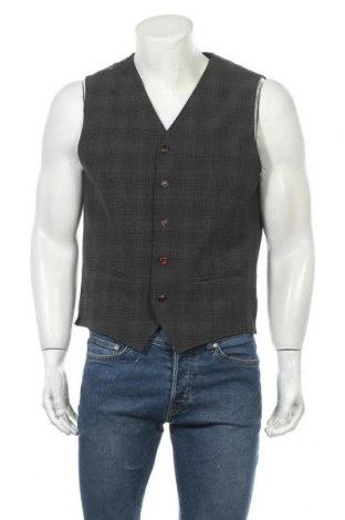 Мъжки елек Premium By Jack & Jones, Размер L, Цвят Многоцветен, 68% полиестер, 29% вискоза, 3% еластан, Цена 31,27лв.