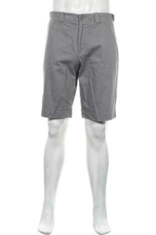 Мъжки къс панталон COS, Размер M, Цвят Сив, Памук, Цена 32,20лв.