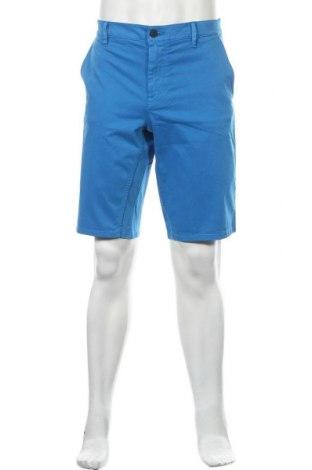 Ανδρικό κοντό παντελόνι Hugo Boss, Μέγεθος L, Χρώμα Μπλέ, 97% βαμβάκι, 3% ελαστάνη, Τιμή 73,07€