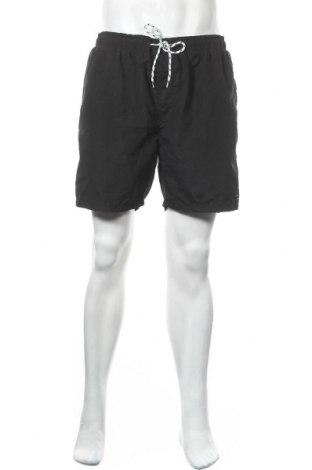 Ανδρικό κοντό παντελόνι Jean Pascale, Μέγεθος XL, Χρώμα Μαύρο, Πολυεστέρας, Τιμή 11,69€