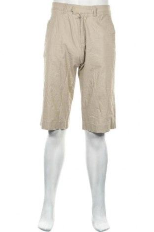 Ανδρικό κοντό παντελόνι Mexx, Μέγεθος S, Χρώμα  Μπέζ, 55% λινό, 45% βισκόζη, Τιμή 7,31€
