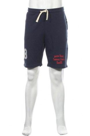 Ανδρικό κοντό παντελόνι SUN68, Μέγεθος XL, Χρώμα Μπλέ, Βαμβάκι, Τιμή 28,45€