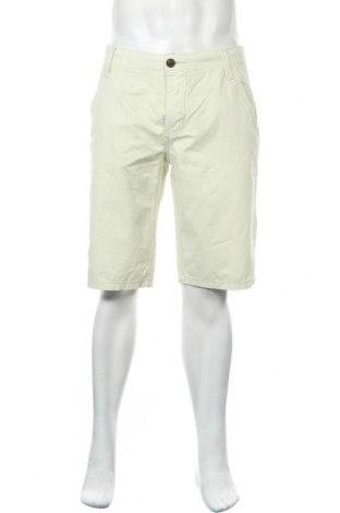 Ανδρικό κοντό παντελόνι Sublevel, Μέγεθος M, Χρώμα Πράσινο, Βαμβάκι, Τιμή 14,94€