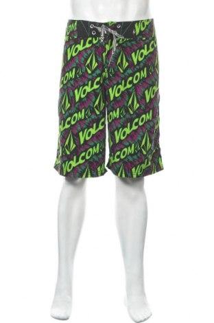 Мъжки къс панталон Volcom, Размер L, Цвят Многоцветен, Полиестер, Цена 33,92лв.
