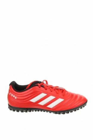 Мъжки обувки Adidas, Размер 40, Цвят Червен, Еко кожа, Цена 52,15лв.