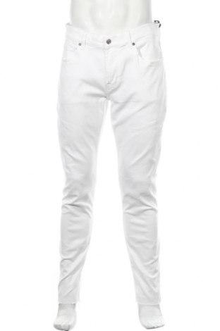 Ανδρικό παντελόνι 7 For All Mankind, Μέγεθος L, Χρώμα Λευκό, 85% βαμβάκι, 11% πολυεστέρας, 4% ελαστάνη, Τιμή 23,61€