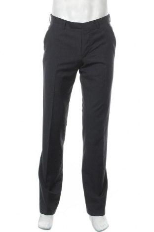 Мъжки панталон Cinque, Размер M, Цвят Син, 80% вълна, 10% полиамид, 10% полиестер, Цена 36,23лв.