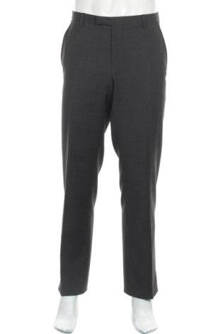 Ανδρικό παντελόνι Cinque, Μέγεθος L, Χρώμα Γκρί, Μαλλί, Τιμή 24,05€